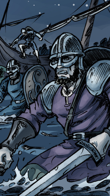Vikings par Samuel Ménétrier et Fred Vigneau.