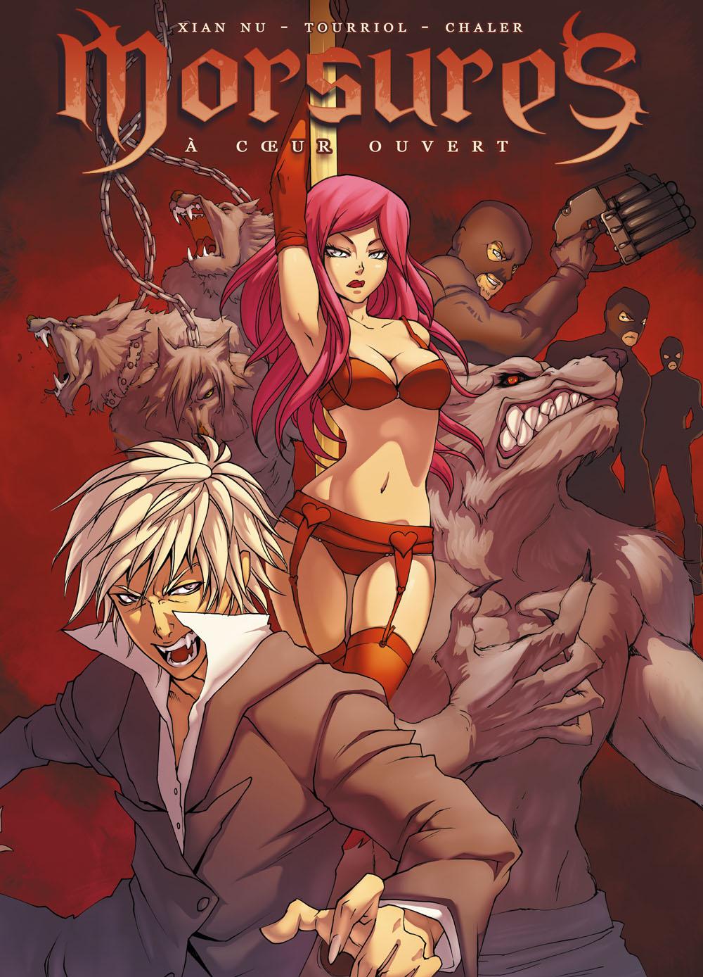 BD vampirique : Morsures par Tourriol & Xian Nu.