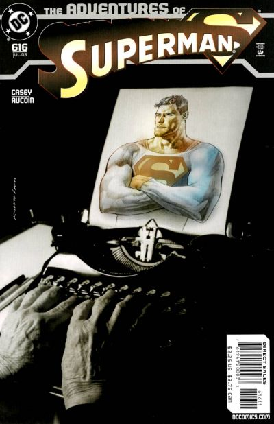 Laurent Queyssi a traduit Adventures of Superman #616
