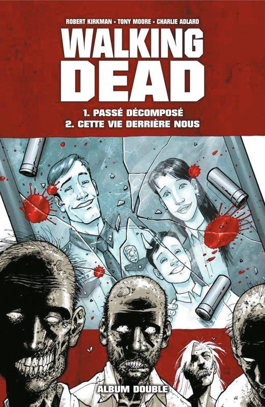 Walking Dead chez France Loisirs à coup de deux tomes par recueil.