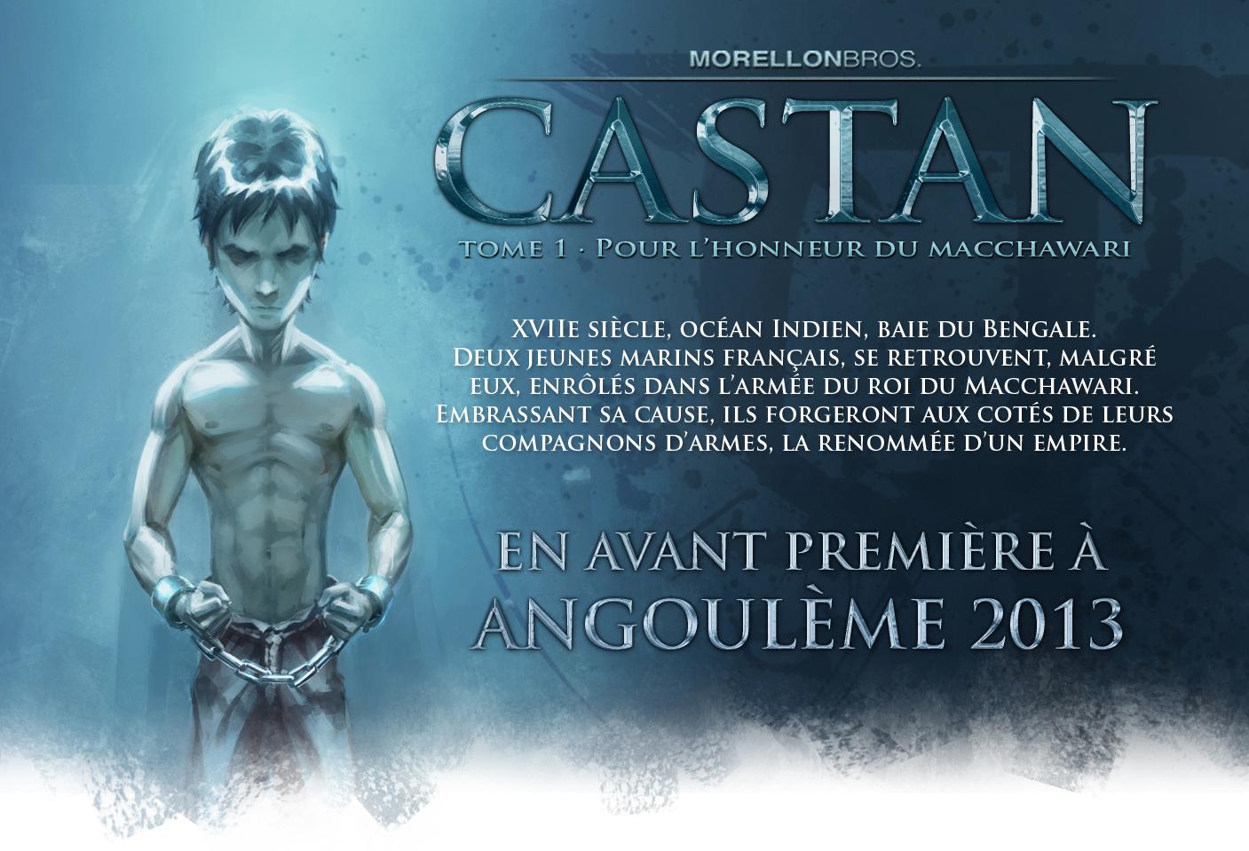 Castan © Des Bulles dans l'Océan.