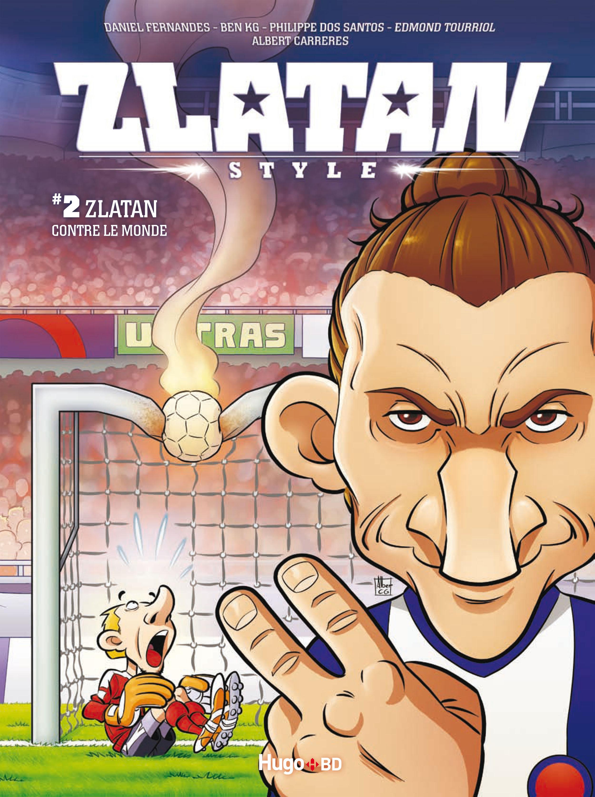 Le deuxième tome de Zlatan Style.