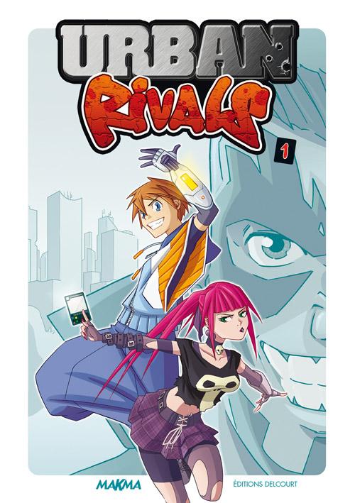 Manga Urban Rivals t1 © Boostr Prod et © Delcourt.