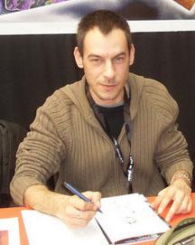 Samuel Ménétrier, dessinateur BD