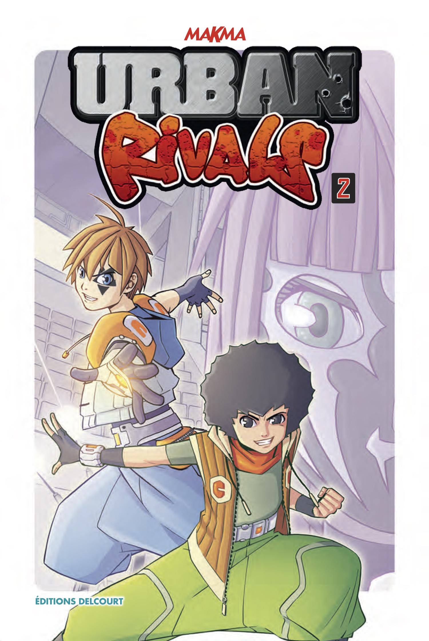 Urban Rivals : une série de mangas en deux tomes.