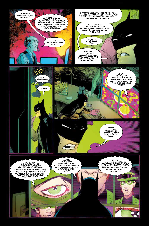 Lettrage comics par Stephan Boschat sur Batman.