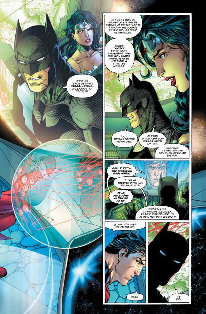 Batman, Urban Comics, lettrage Stephan Boschat