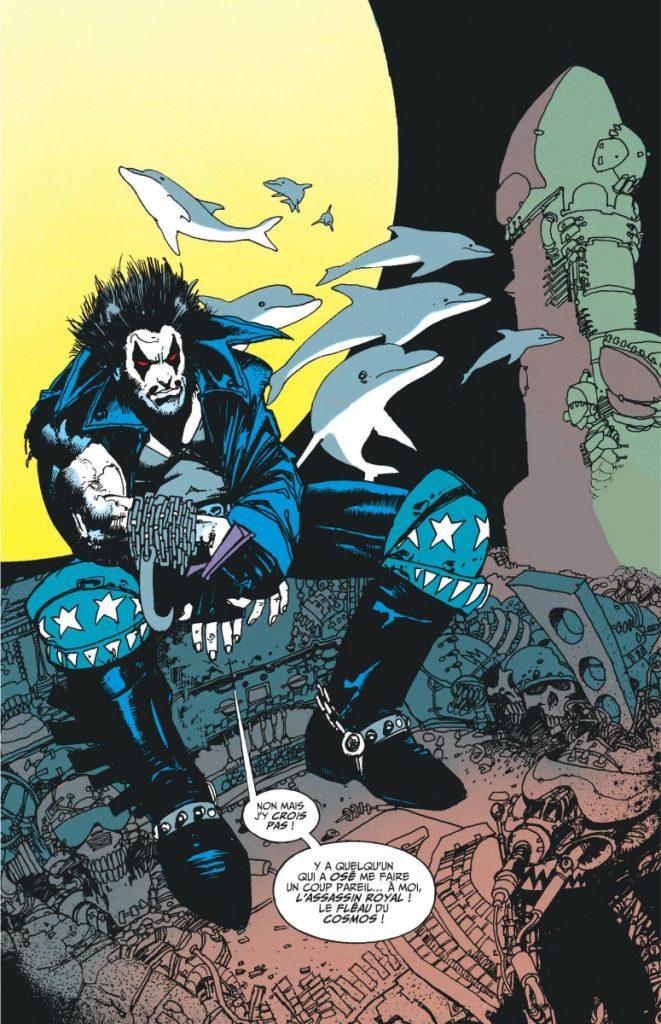 Lobo : une traduction de comics signée Edmond Tourriol
