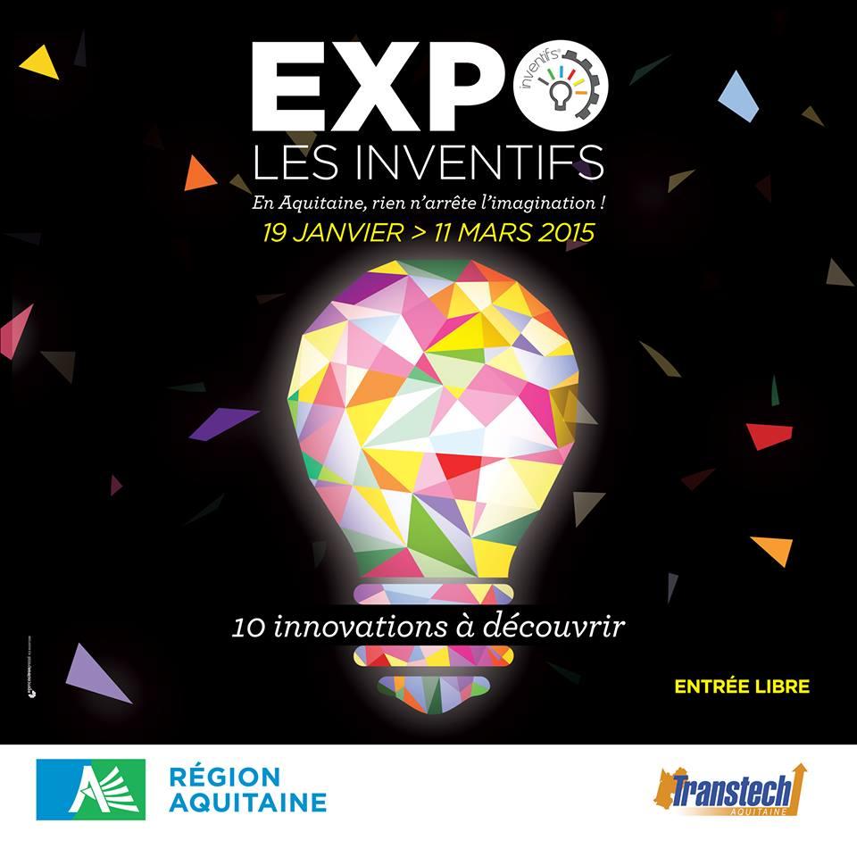 Expo les Inventifs à la Région Aquitiaine