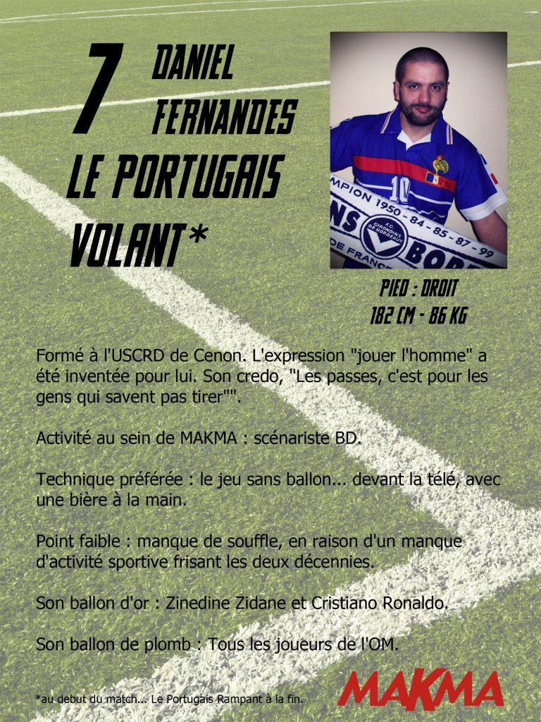 Daniel Fernandes, le portugais volant