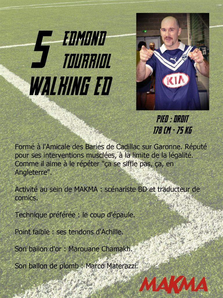 Edmond Tourriol jouera au foot à Angoulême : gare aux tibias des adversaires !