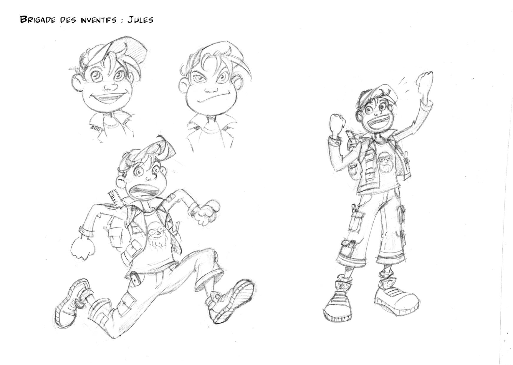 Jules par Samuel Ménétrier : un héros qui utilise son ciboulot !