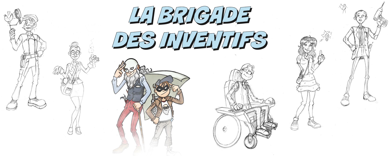 La Brigade des Inventifs, by Samuel Ménétrier
