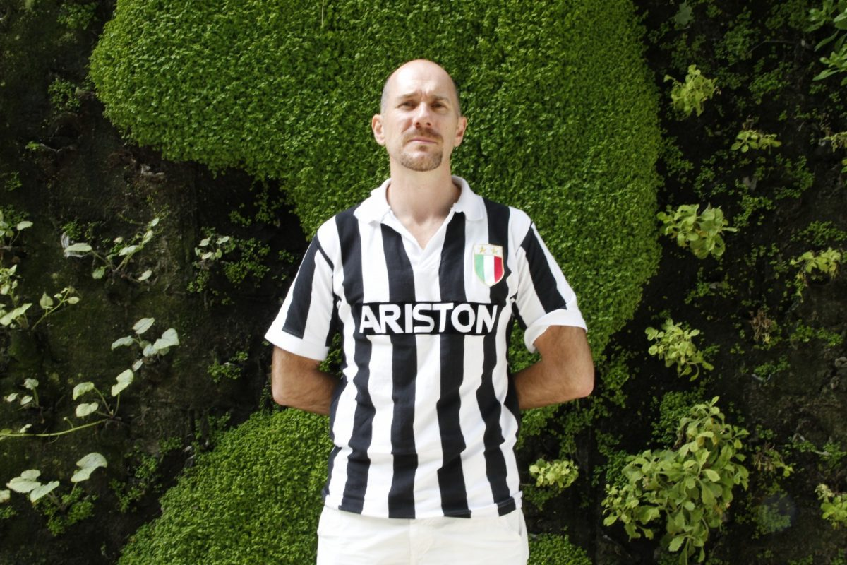 Edmond Tourriol a toujours aimé les maillots de la Juventus.