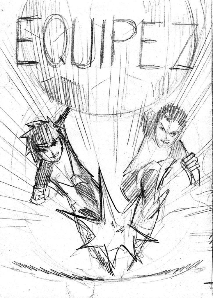 Choisissez la couverture du manga L'équipe Z !