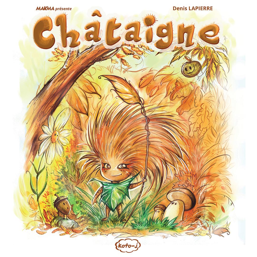 Couverture de Châtaigne (Denis Lapierre)