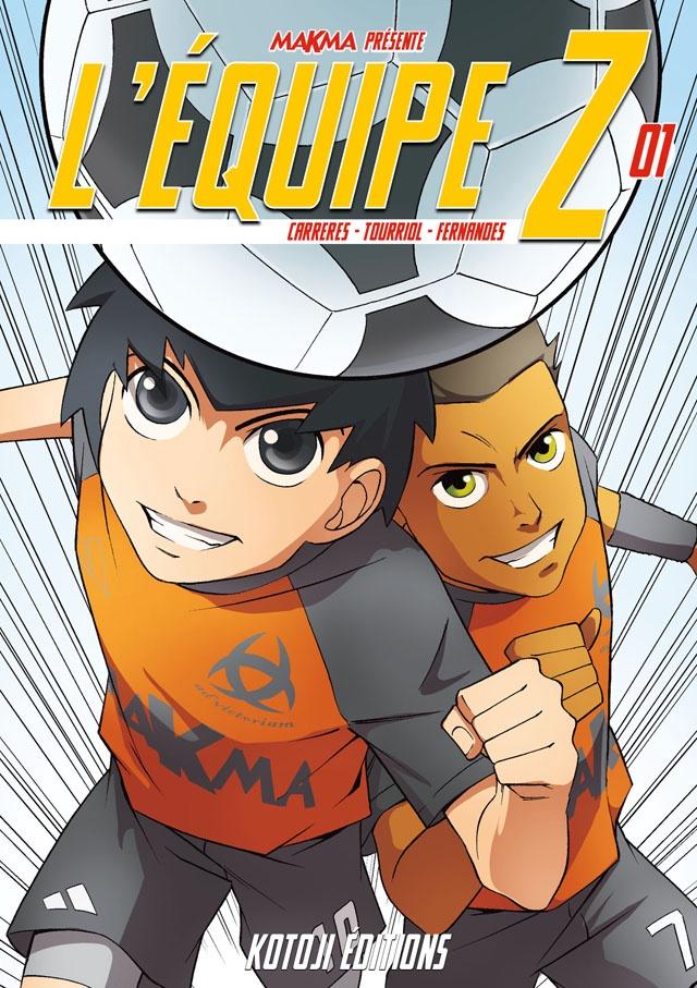 Le premier tome de L'équipe Z a-t-il déjà sa couverture ?
