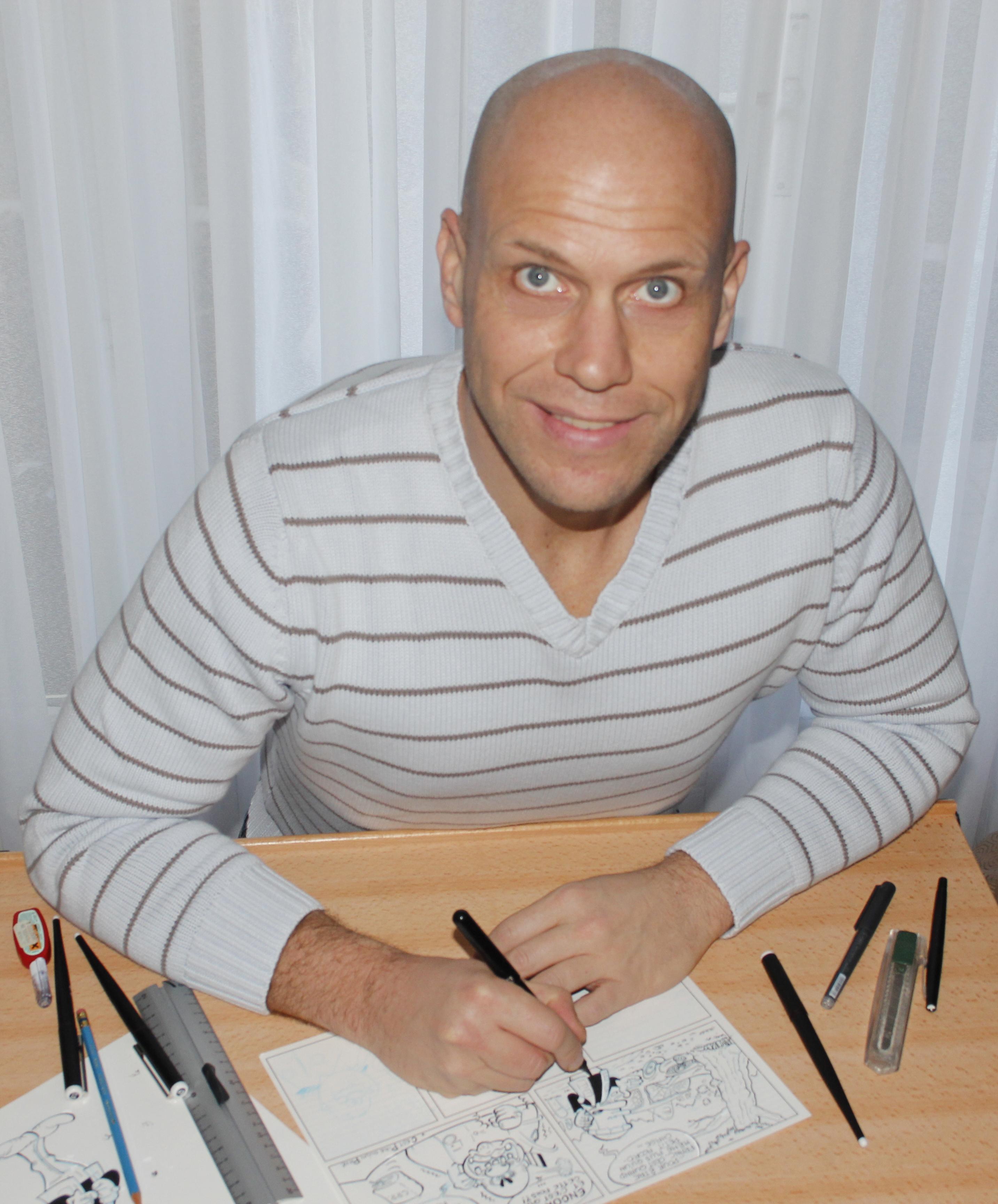 Daricy, dessinateur BD de Passe la BAC d'abord.