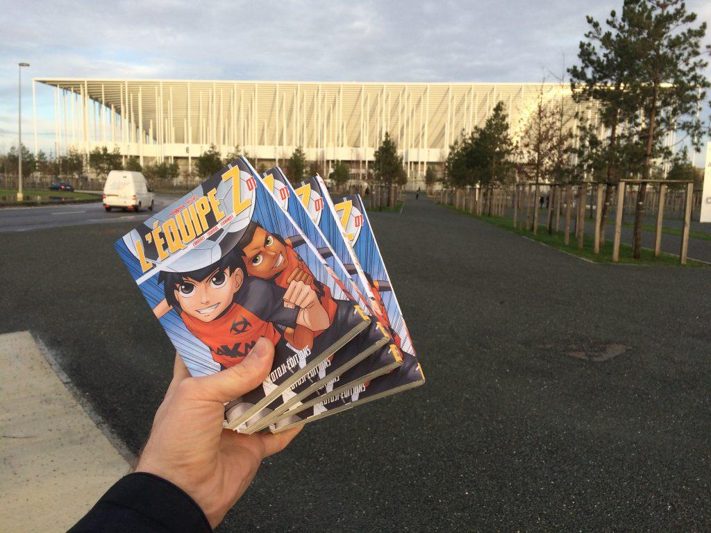 Le manga L'équipe Z s'apprête à conquérir Bordeaux Métropole !