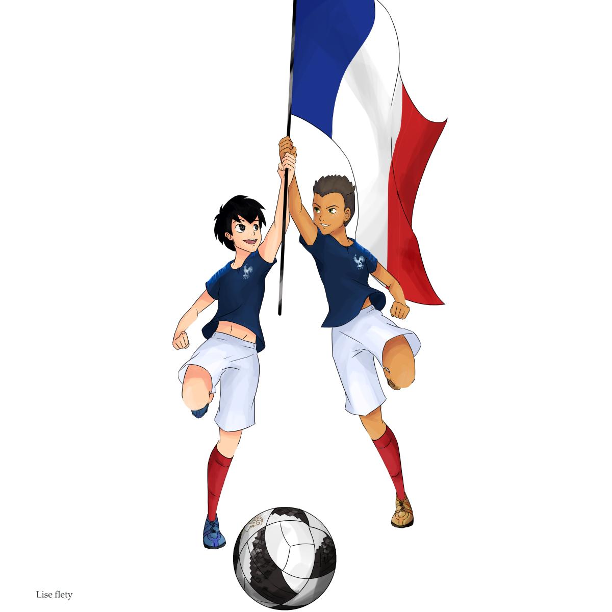 Hugo et Majid en équipe de France ? C'est une idée !