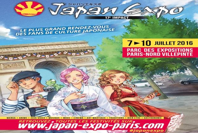 Japan-Expo-2016-17eme-impact-affiche-logo