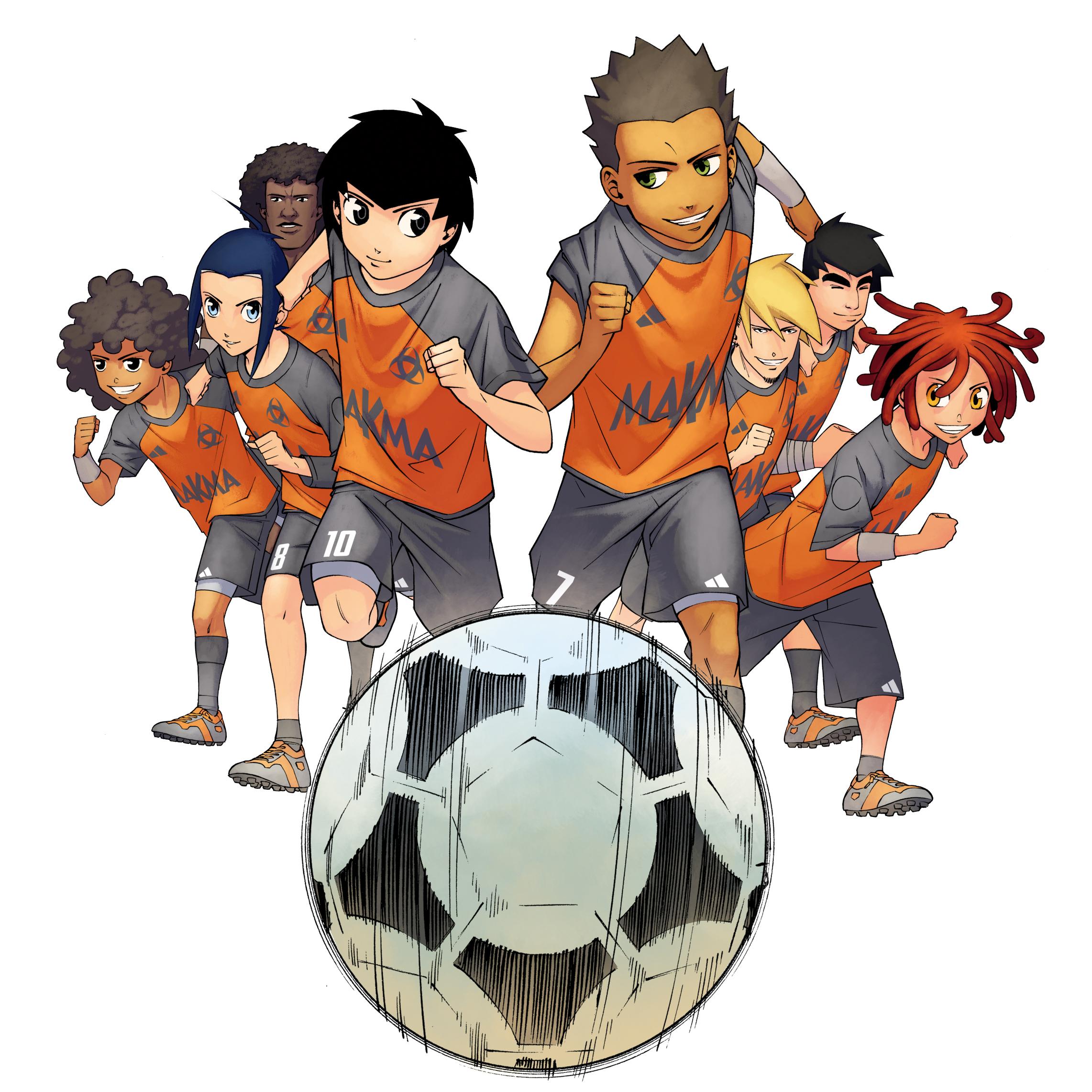L'équipe Z : un shōnen manga de foot dont l'action se déroule en France, à Bordeaux !