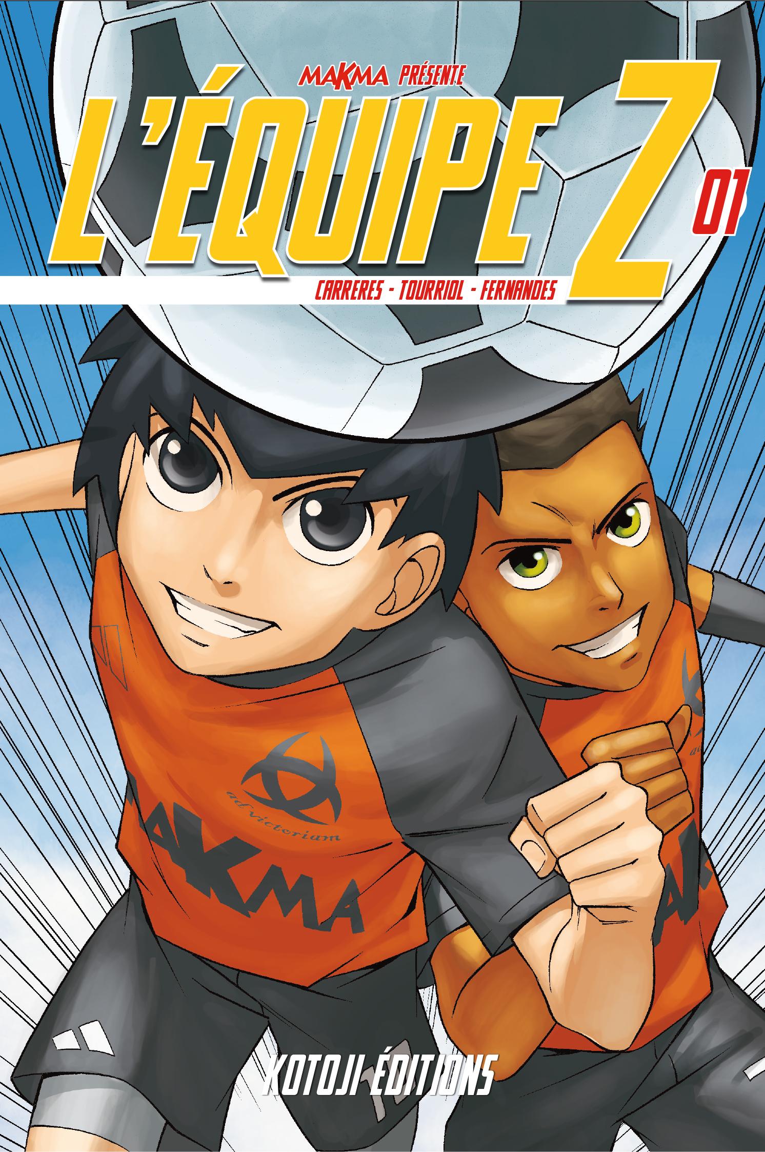 Après un premier volume réussi, les mangakas Tourriol, Fernandes et Carreres vous donnent rendez-vous pour L'Équipe Z tome 2 !