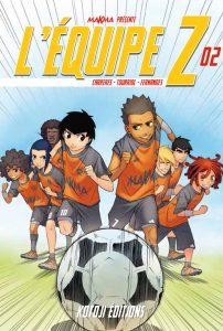 C'est Sarah Grassart qui a travaillé sur le lettrage du manga L'équipe Z tome 2, en vente partout à partir de 17/03/2017.