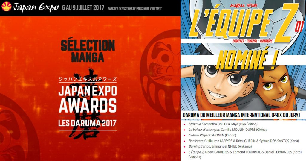 En route vers le Daruma 2017 aux Japan Expo Awards !