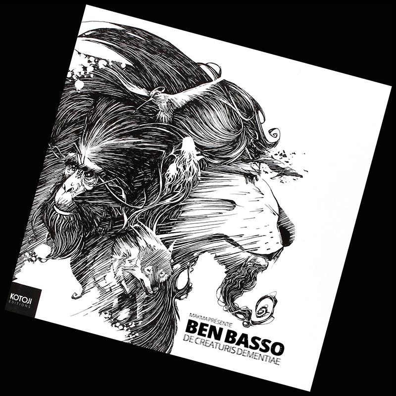 <strong>De Creaturis Dementiae</strong>,<br />l'artbook de <strong>Ben BASSO</strong>