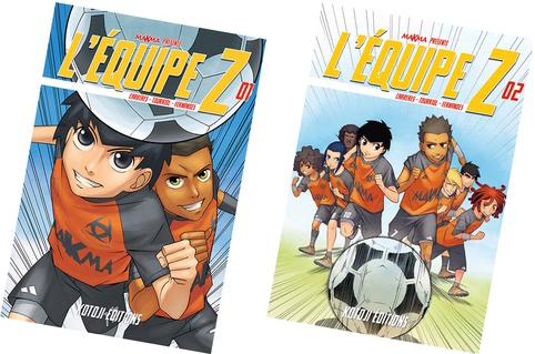 Lisez <strong>L'Équipe Z</strong> en ligne sur Mangadraft !