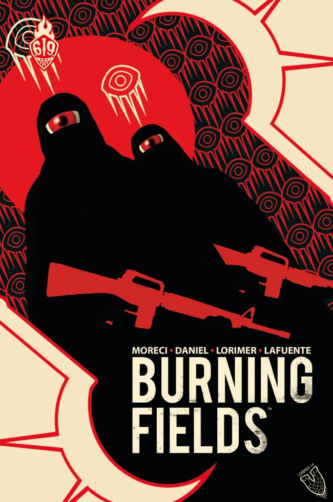 Burning fields - Ankama éditions - Traduction : Benjamin Viette