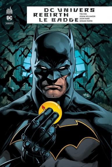 Un lettrage BD signé MAKMA ! Le Badge : Batman et Flash contre le Néga-Flash... les héros de Watchmen envahissent l'univers DC Comics !