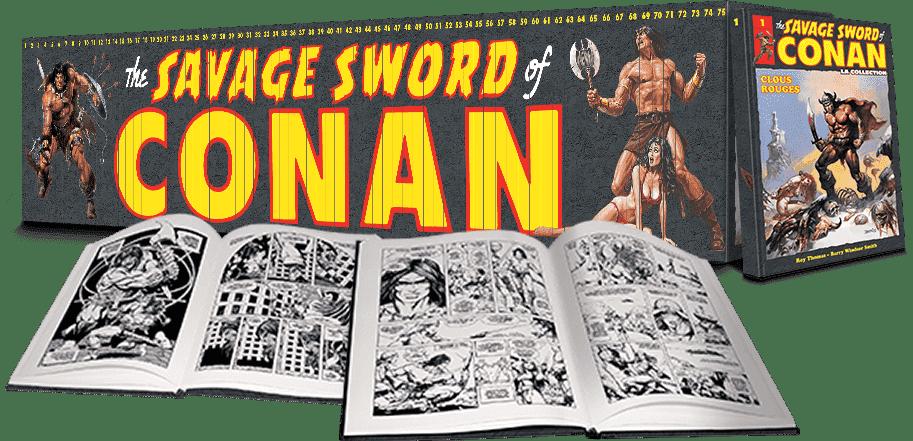 Le monde sauvage de Conan : un packaging BD signé MAKMA.
