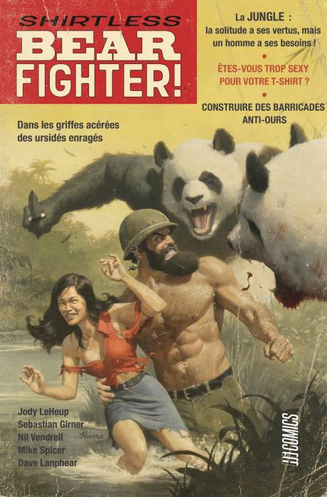 Shirtless Bear Fighter - HiComics - Tradction : Benjamin Viette