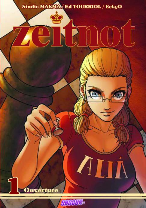 Un manga sur les échecs : Zeitnot a été publié dans la collection de mangas français Shogun des Humanoïdes Associés.