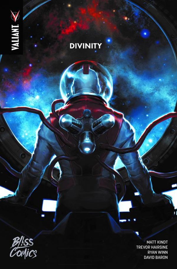 Les comics Divinity sont traduits par Stéphane Le Troëdec. Divinity © Valiant et © Bliss Comics pour la VF.