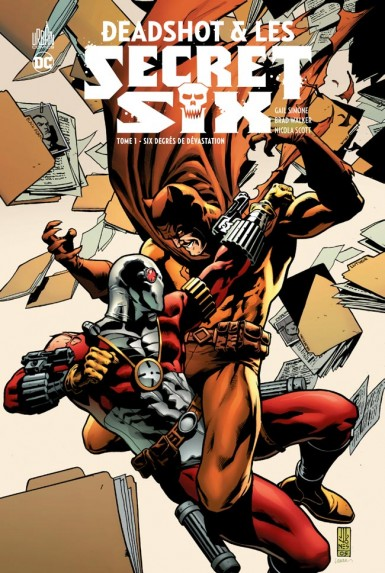 Deadshot & les Secret Six tome 1 : une traduction de comics par Mathieu Auverdin.