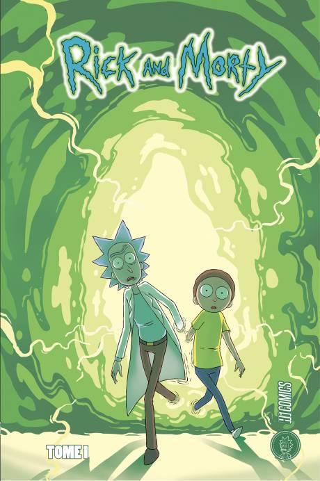Rick et Morty, une traduction de comics signée Benjamin Rivière