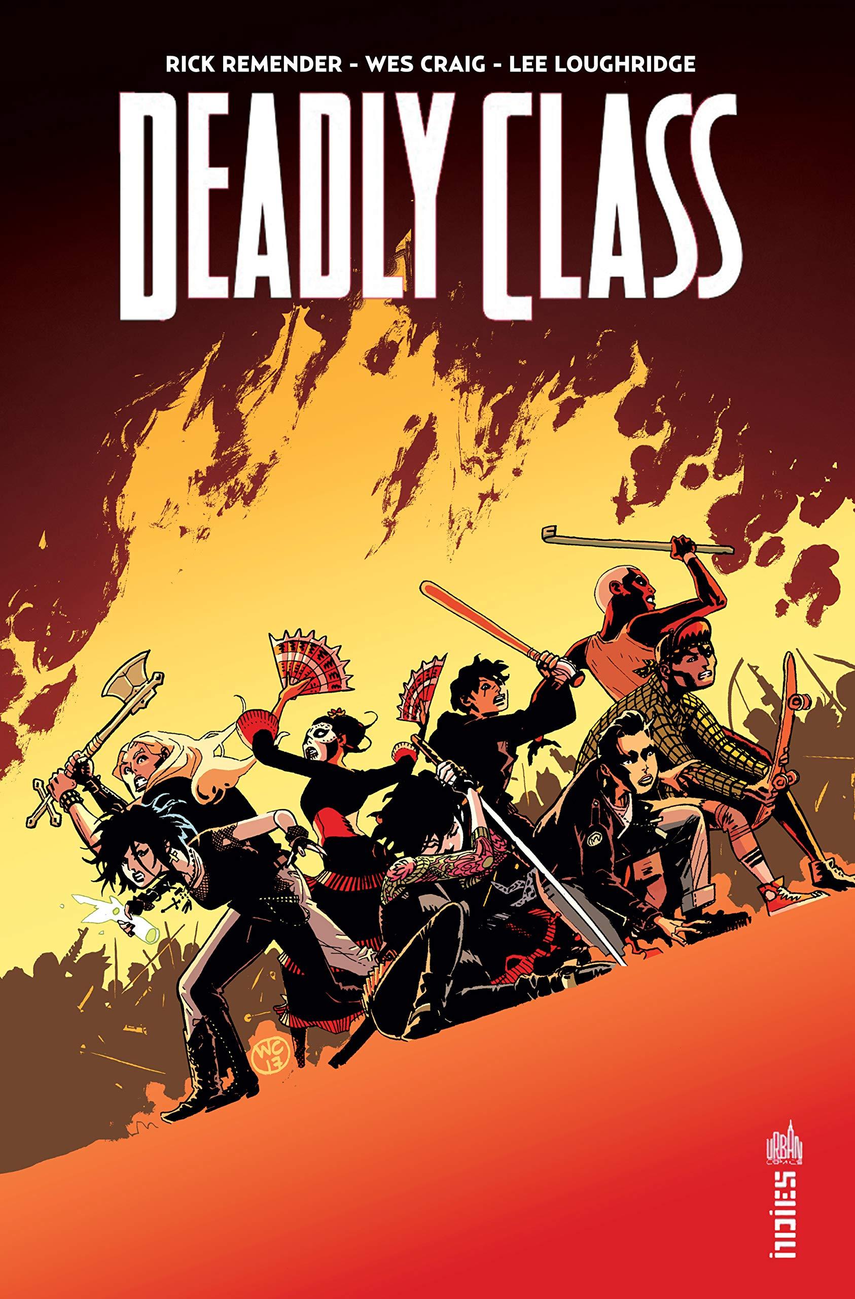 Deadly Class, une traduction de comics signée Benjamin Rivière