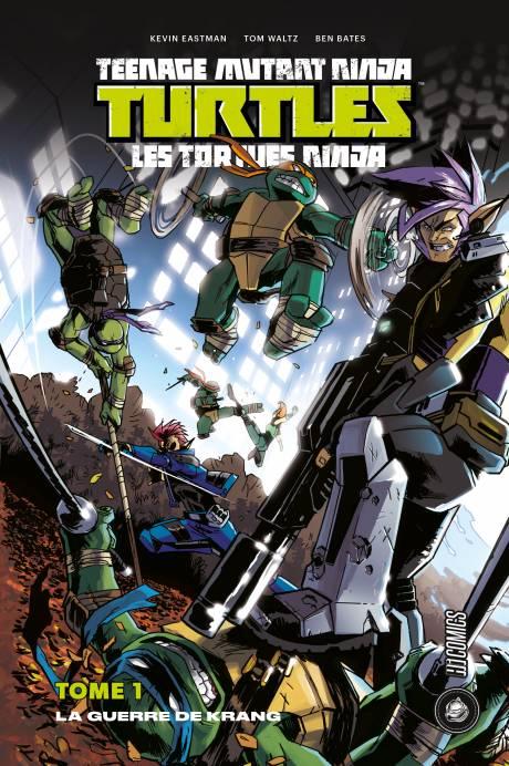 Tortues Ninja, une traduction de comics signée Benjamin Viette