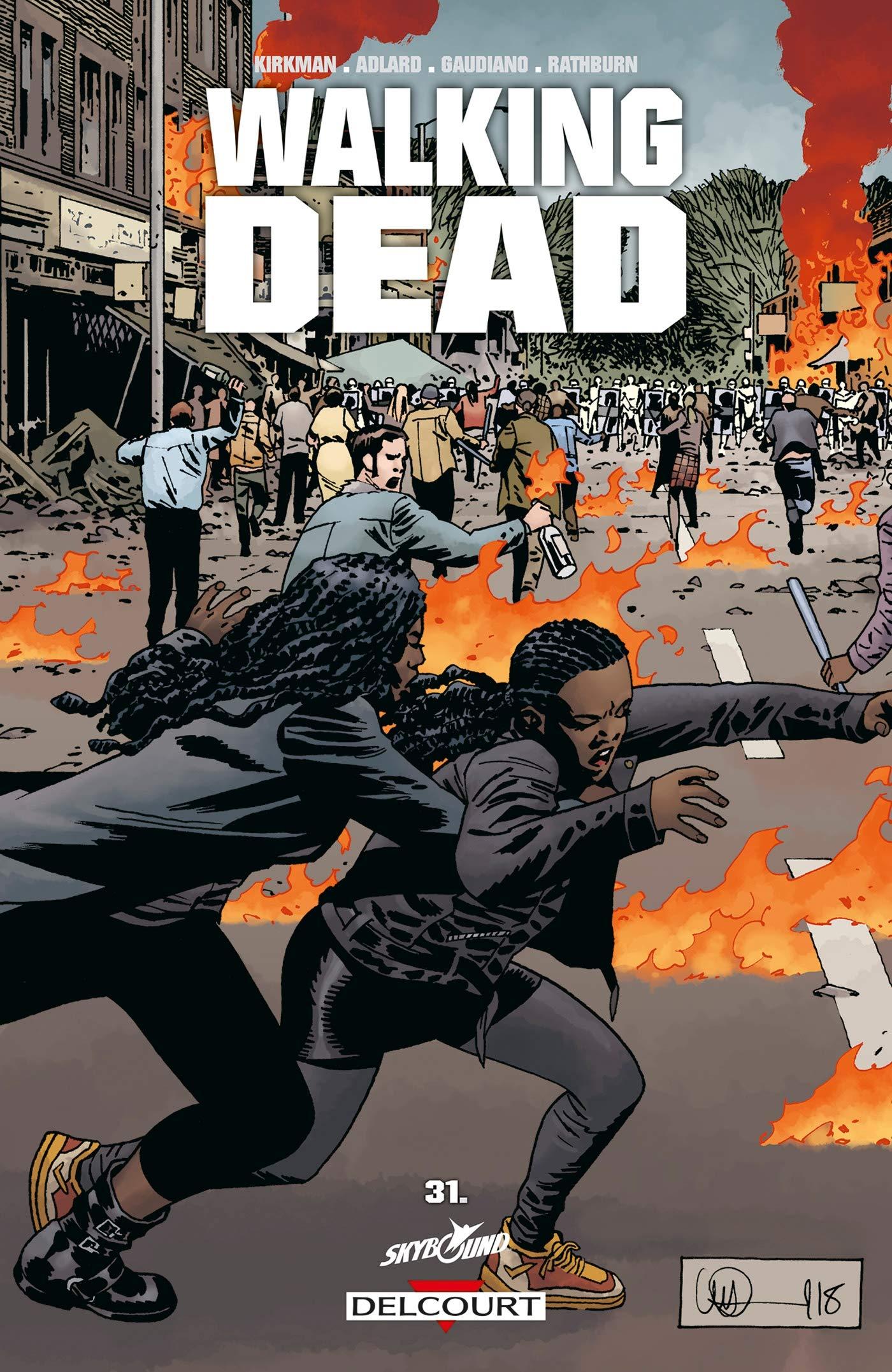 Walking dead, une traduction de comics signée Edmond Tourriol
