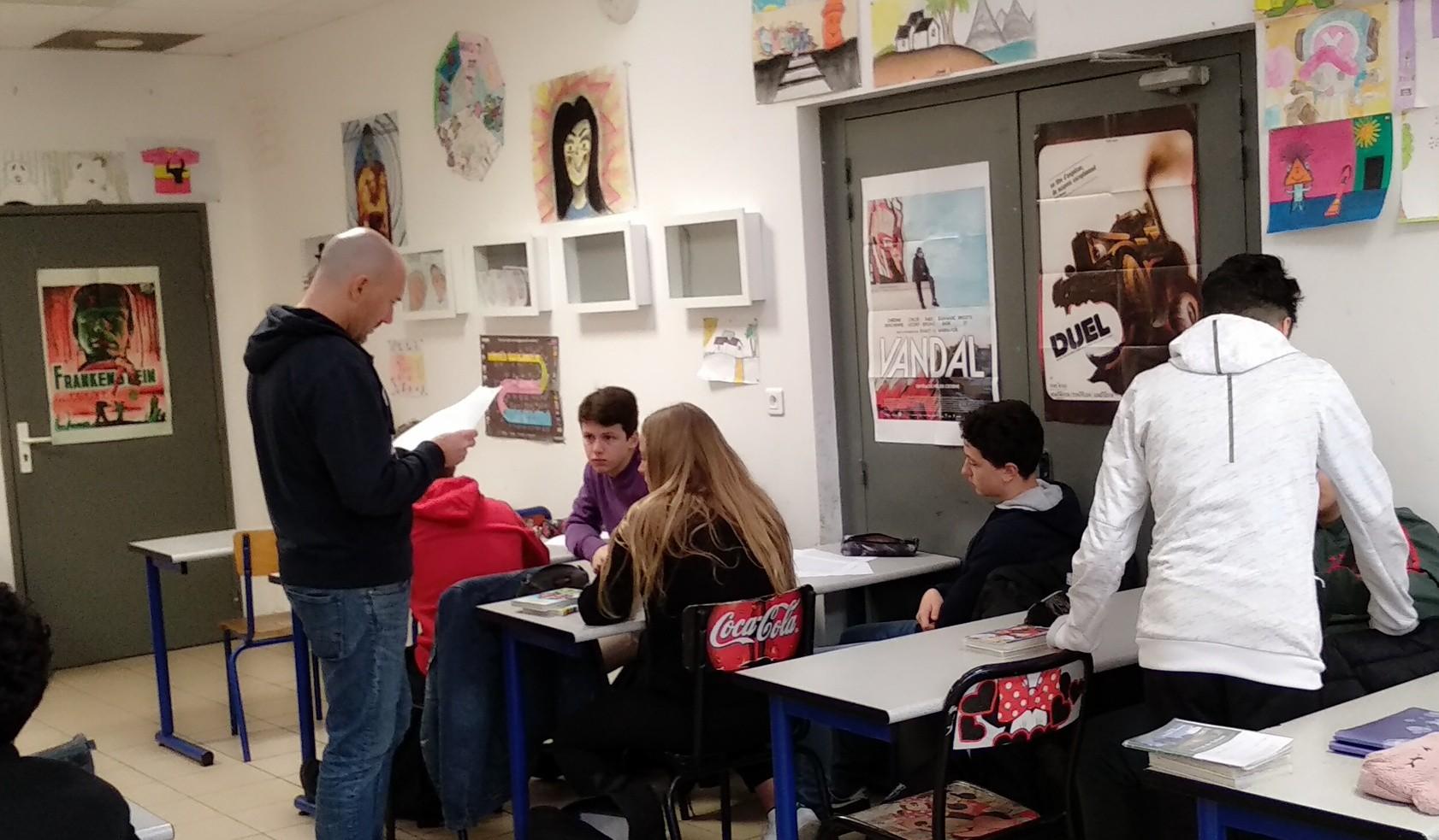 L'atelier d'écriture de L'Équipe Z.