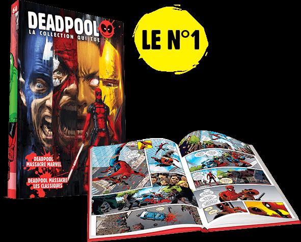 Deadpool la collection qui tue.