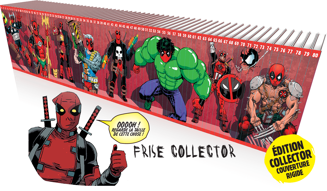 Deadpool, la collection qui tue : recommandée par de grandes marques de cercueils.