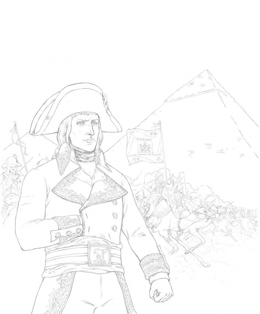 Dessin de couverture : Napoléon par Hervé Breuil.