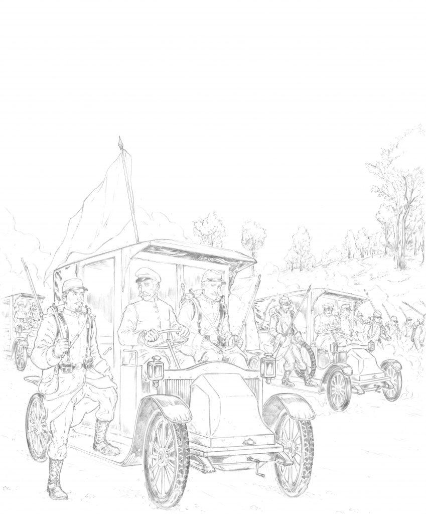 L'illustrateur Hervé Breuil crayonne la Grande Guerre.