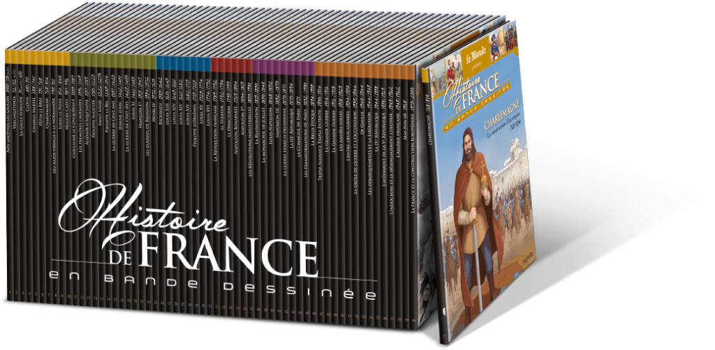 Histoire de France en BD : soixante albums signés MAKMA.