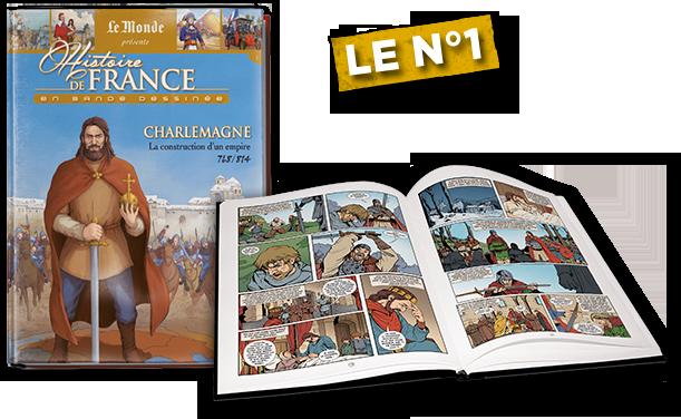 Histoire de France en Bande Dessinée : Charlemagne.