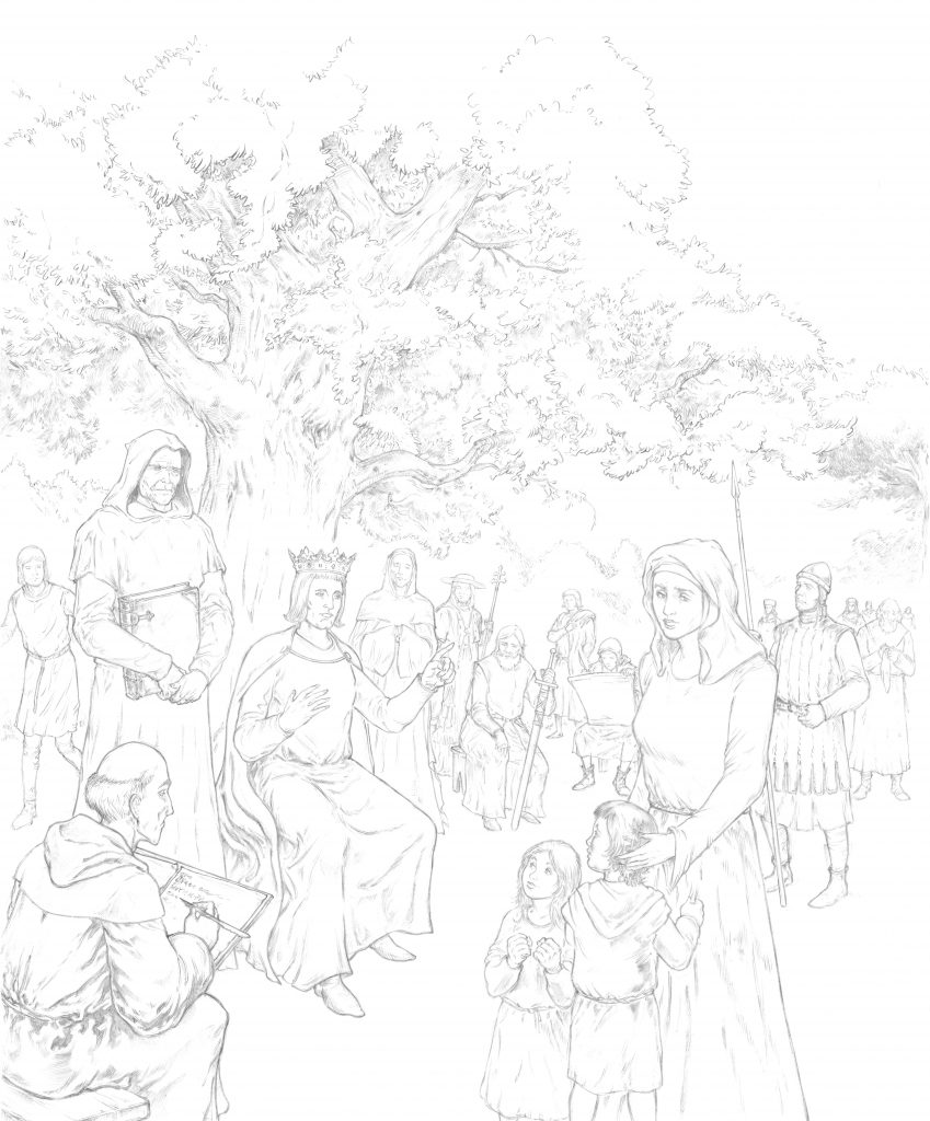 Dessin de couverture : Saint-Louis par Hervé Breuil.